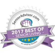 SeniorAdvisor.com Best of Senior Living Award