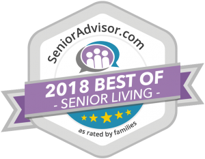 Senior Advisor 2018 Best of Senior Living Award