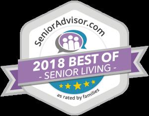 Senior Advisor 2018 Best of Senior Living Award
