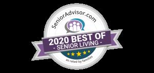 Senior Advisor 2020 best of senior living award
