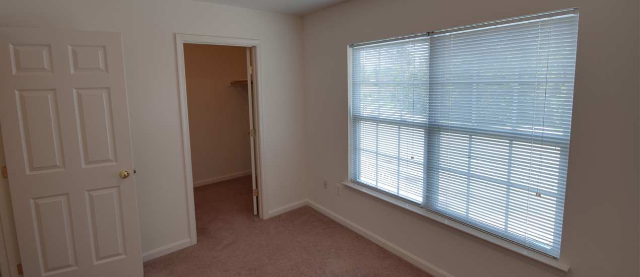 Master Bedroom with walk-in closet