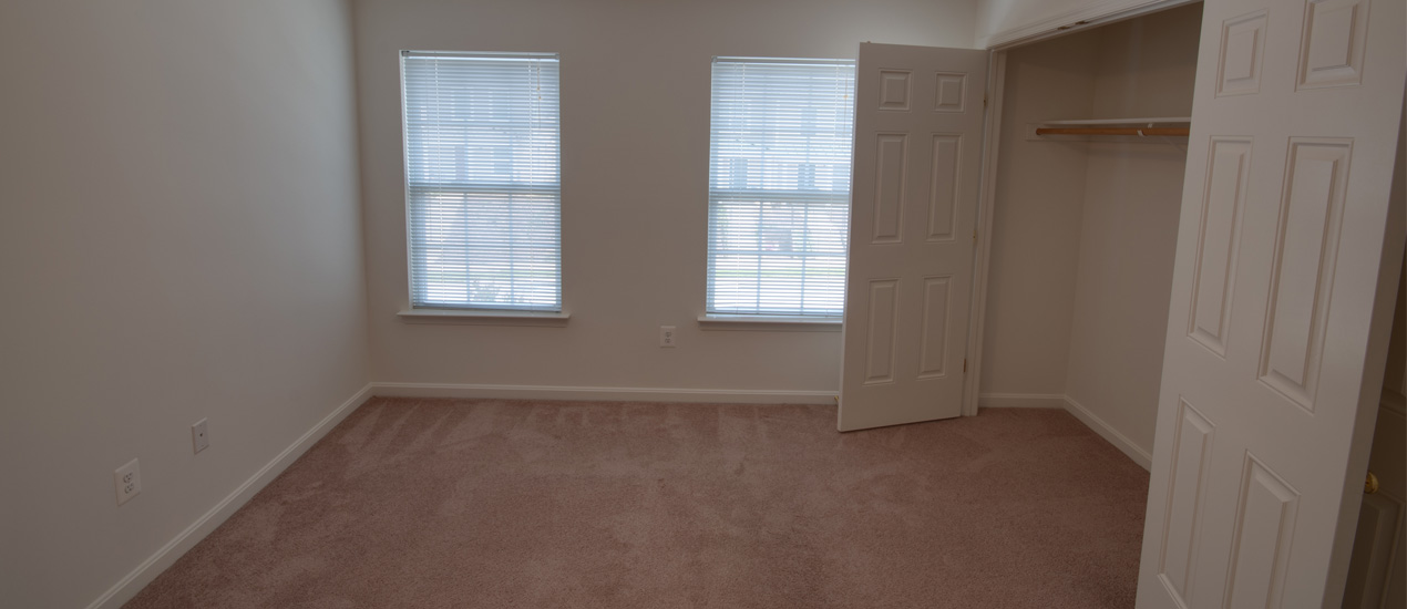 Second Bedroom with Large Closet