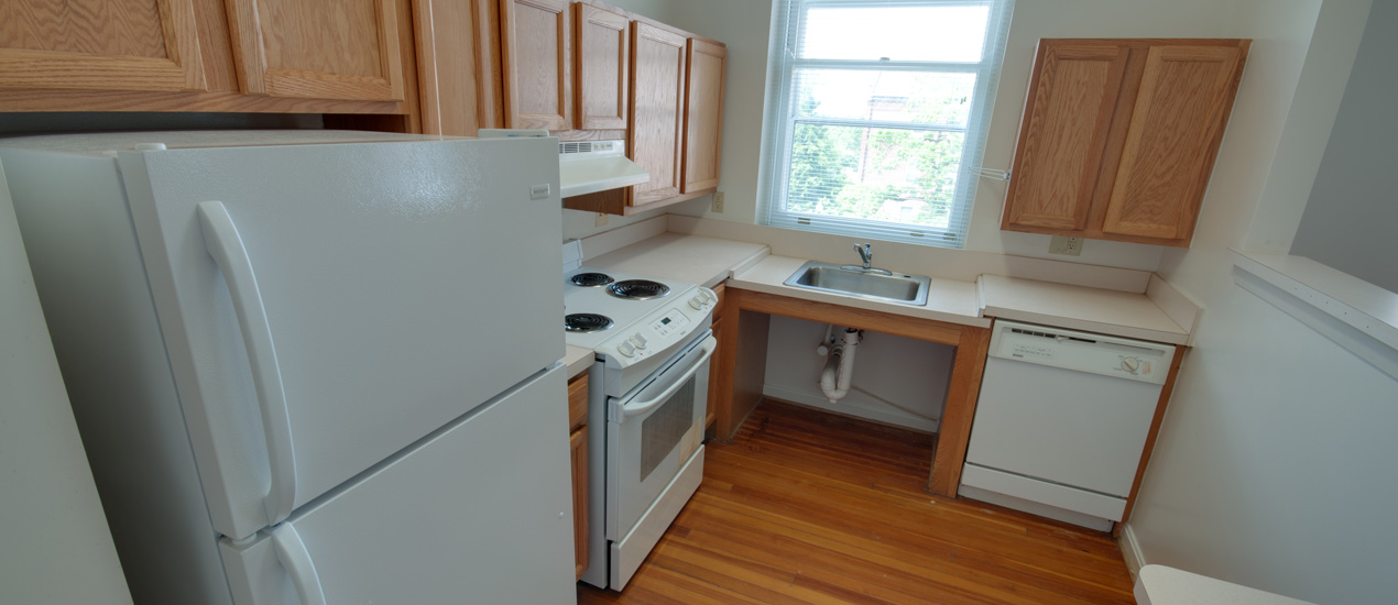 Clare Court Apartment Kitchen