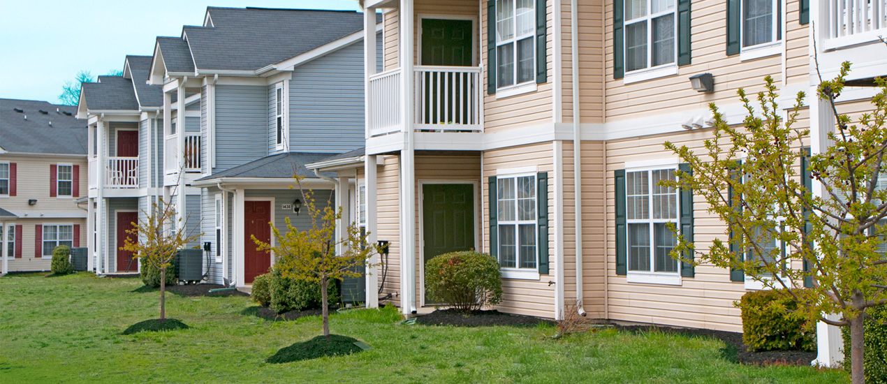 Homes at Foxfield Apartment Balconies