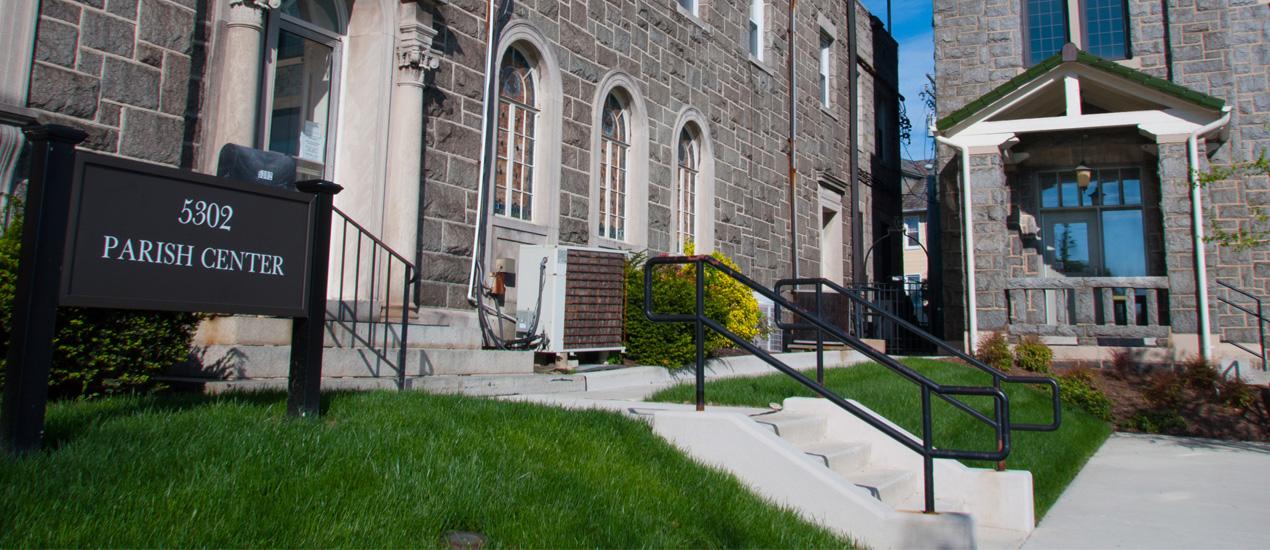 Parish Center at John Manley House