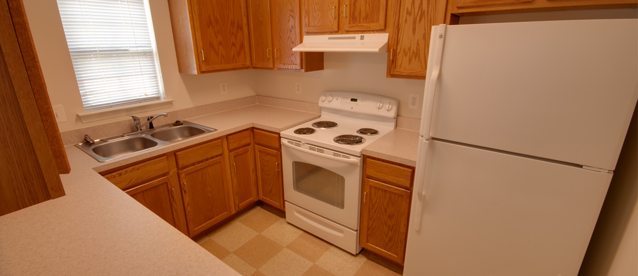Hunting Creek Apartments and Townhomes Kitchen