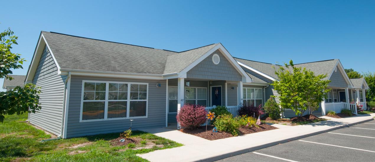 Cottage-style senior homes