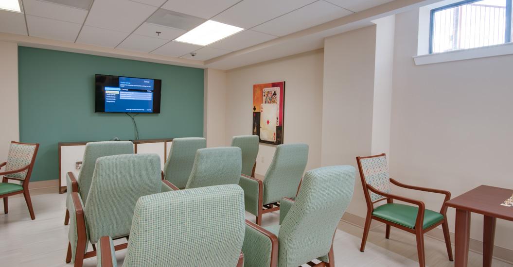 Linden Park Apartments Media Room