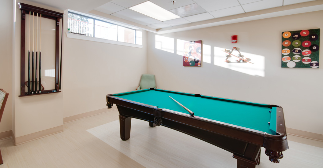 Linden Park Apartments Billiards Room
