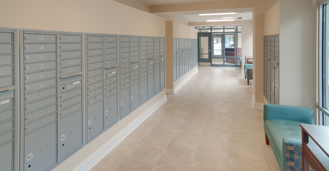 Linden Park Senior Apartments Mail Room