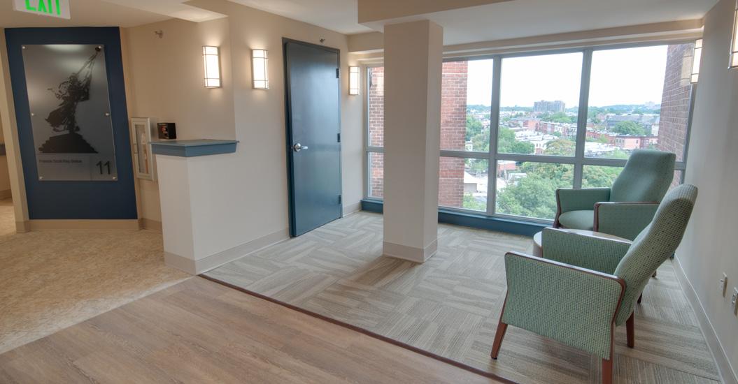 Linden Park Senior Apartments Lounge Area