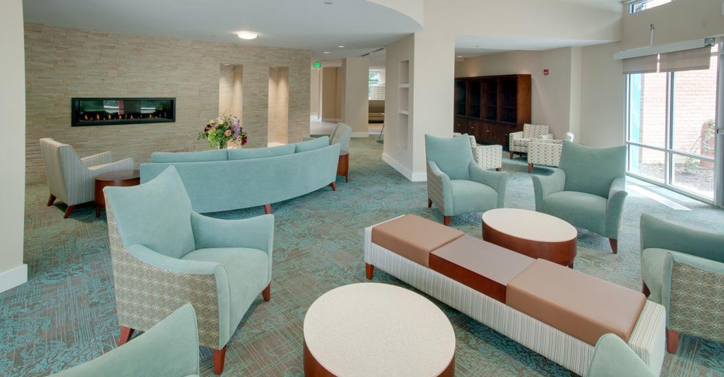 Linden Park Senior Apartments Resident Lounge