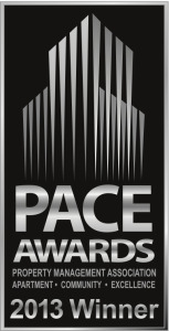 PACE Awards Winner 2013