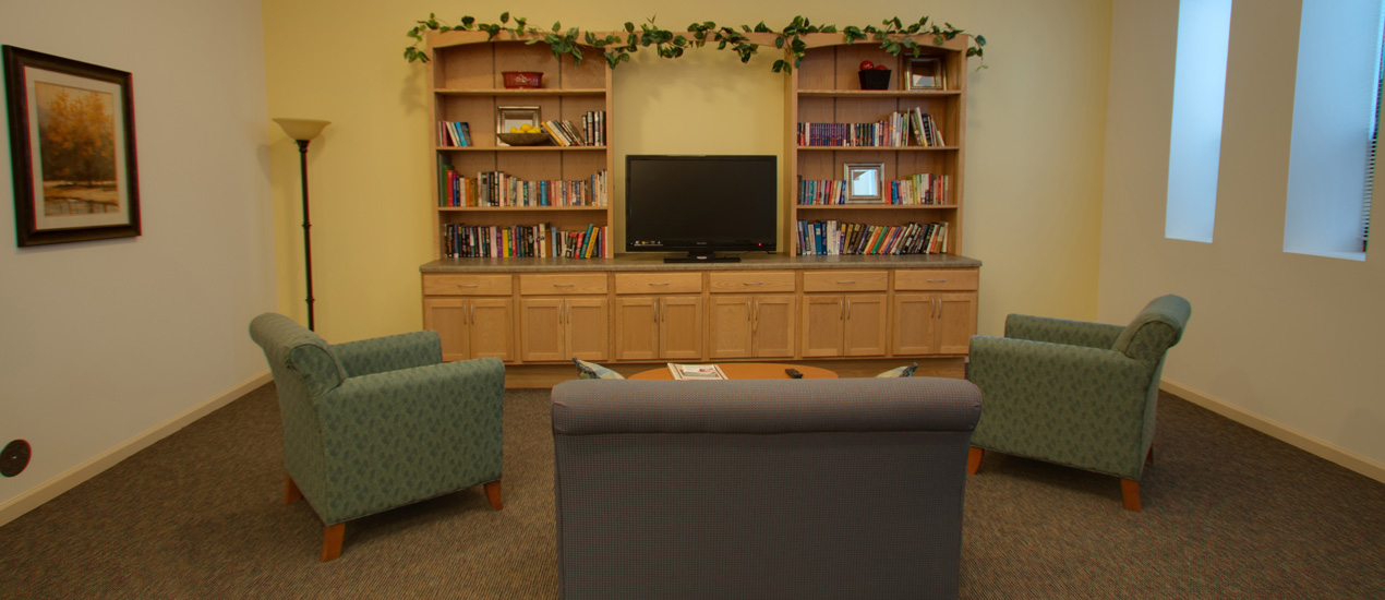 Resident Lounge with TV