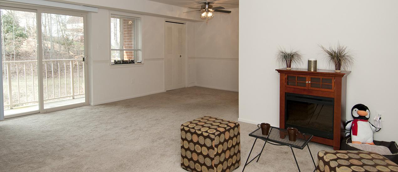 Riverwoods Apartments of Fredericksburg Living Room