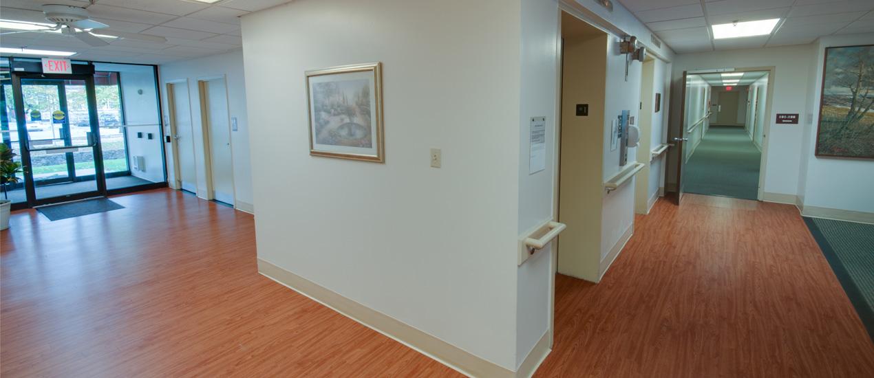 Community Lobby and Elevator