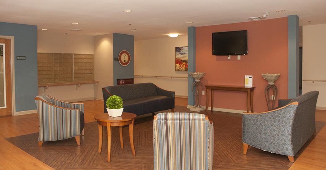 ... Victoria Park Apartments; Media Lounge ...
