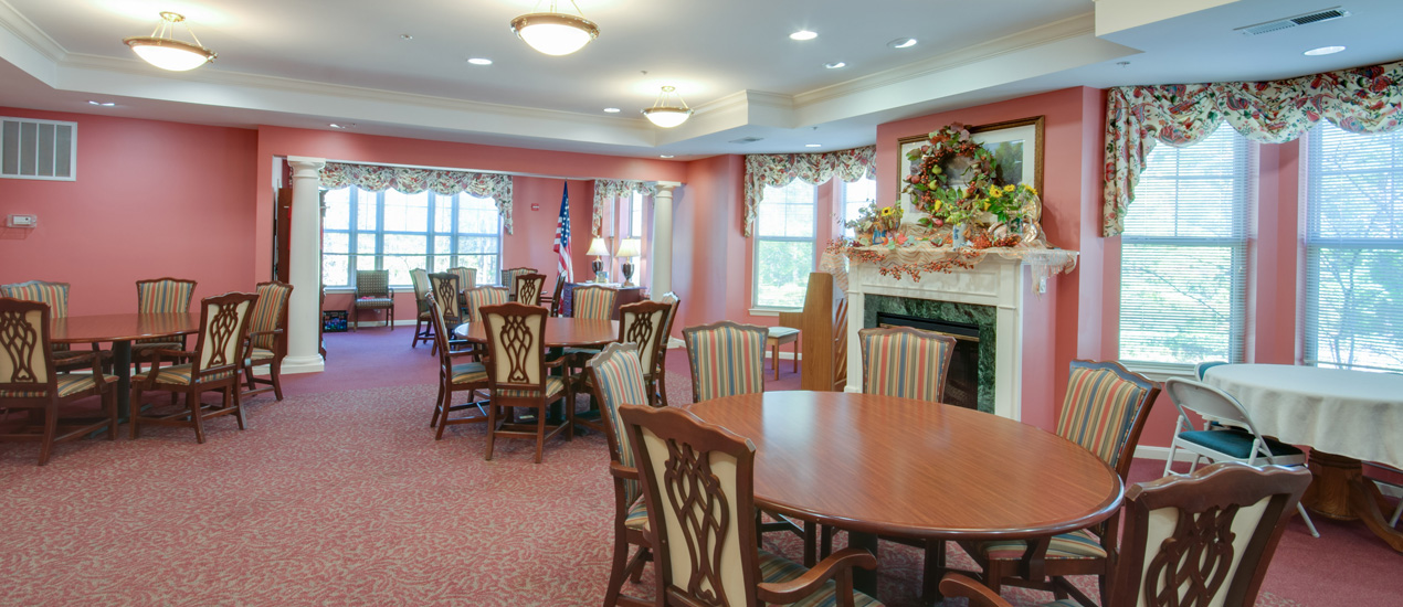 Victory Terrace Senior Apartments Community Room