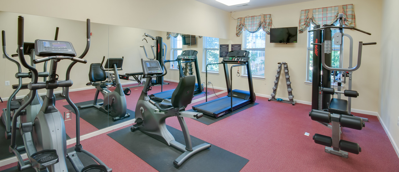 Victory Terrace Senior Apartments Fitness Center