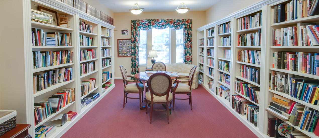 Victory Terrace Senior Apartments Library