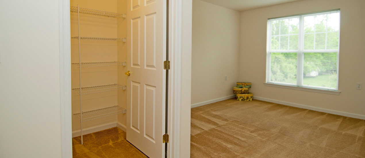 Master Bedroom with a Large Closet
