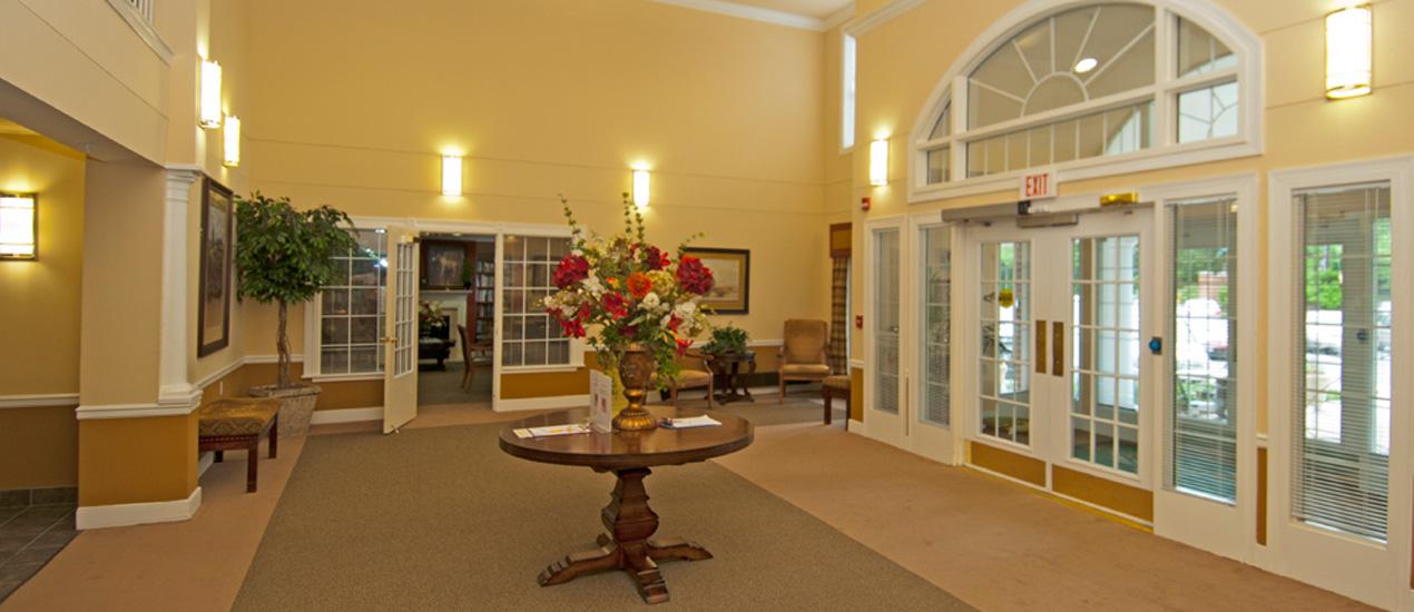 Willow Manor Colesville Lobby