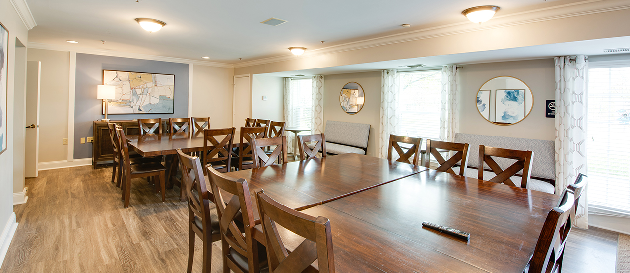 Entertaining space for events