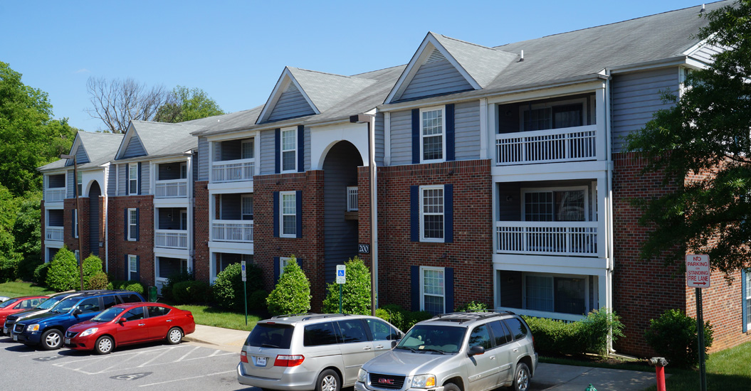 Weston Circle Apartments with balconies