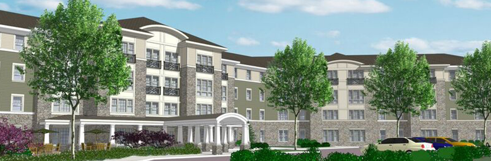 Victory Crossing Senior Apartments in Silver Spring rendering
