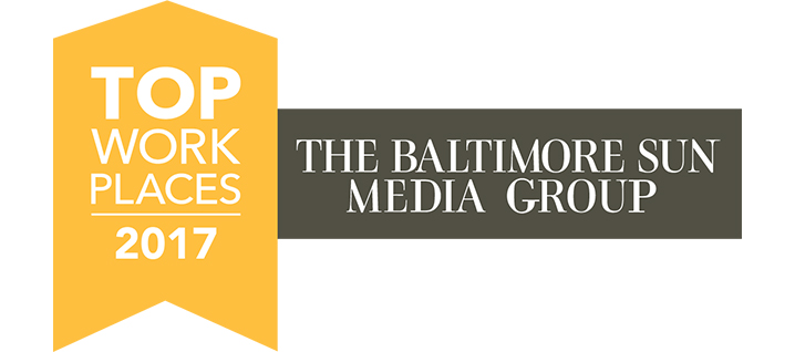 Baltimore Sun Top Workplaces 2017 logo