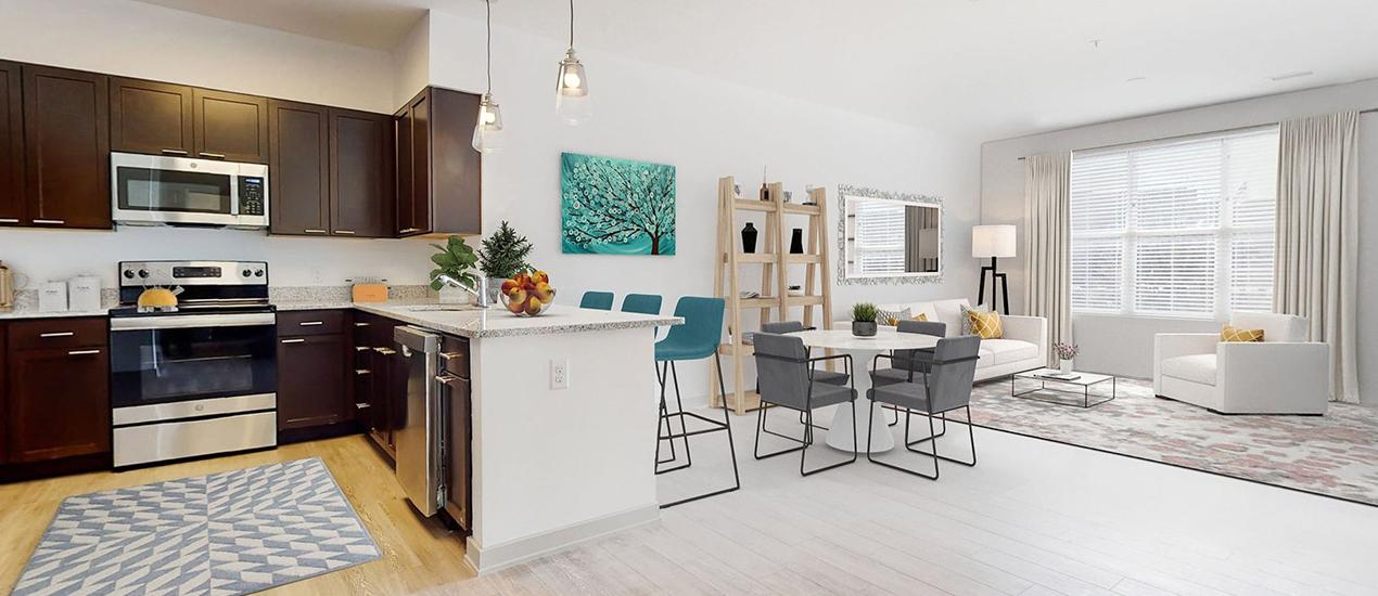 full apartment rendering
