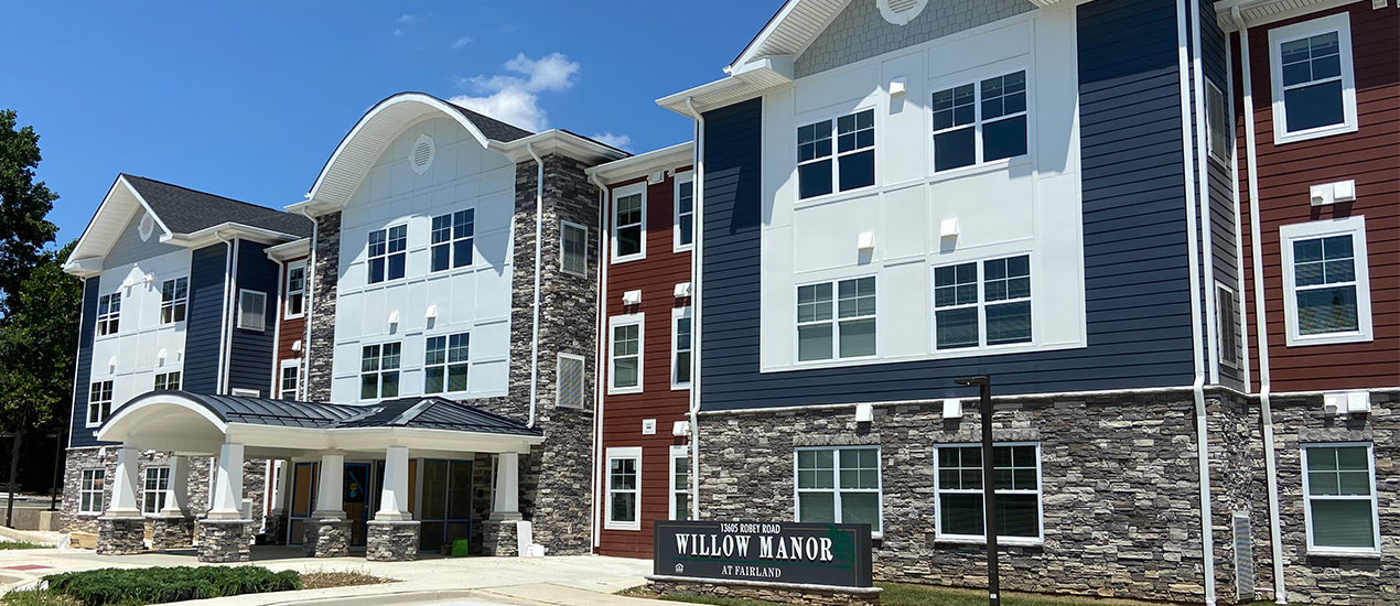 Willow Manor at Fairland exterior