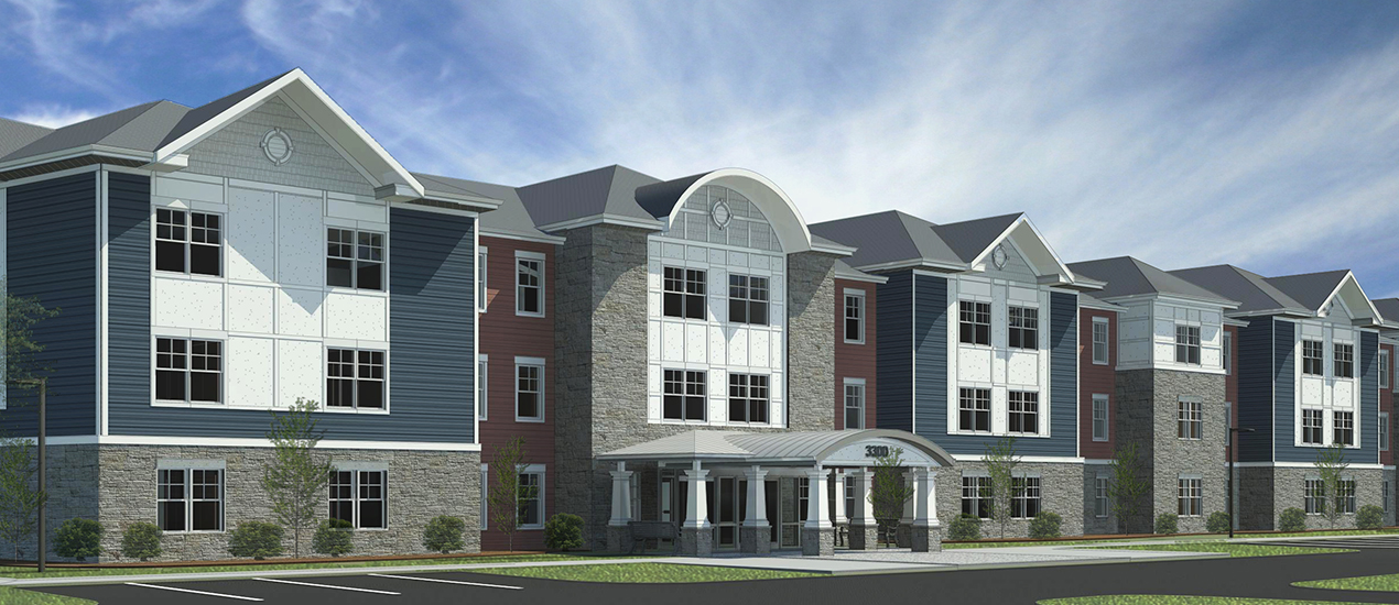 Willow Manor at Fairland Rendering