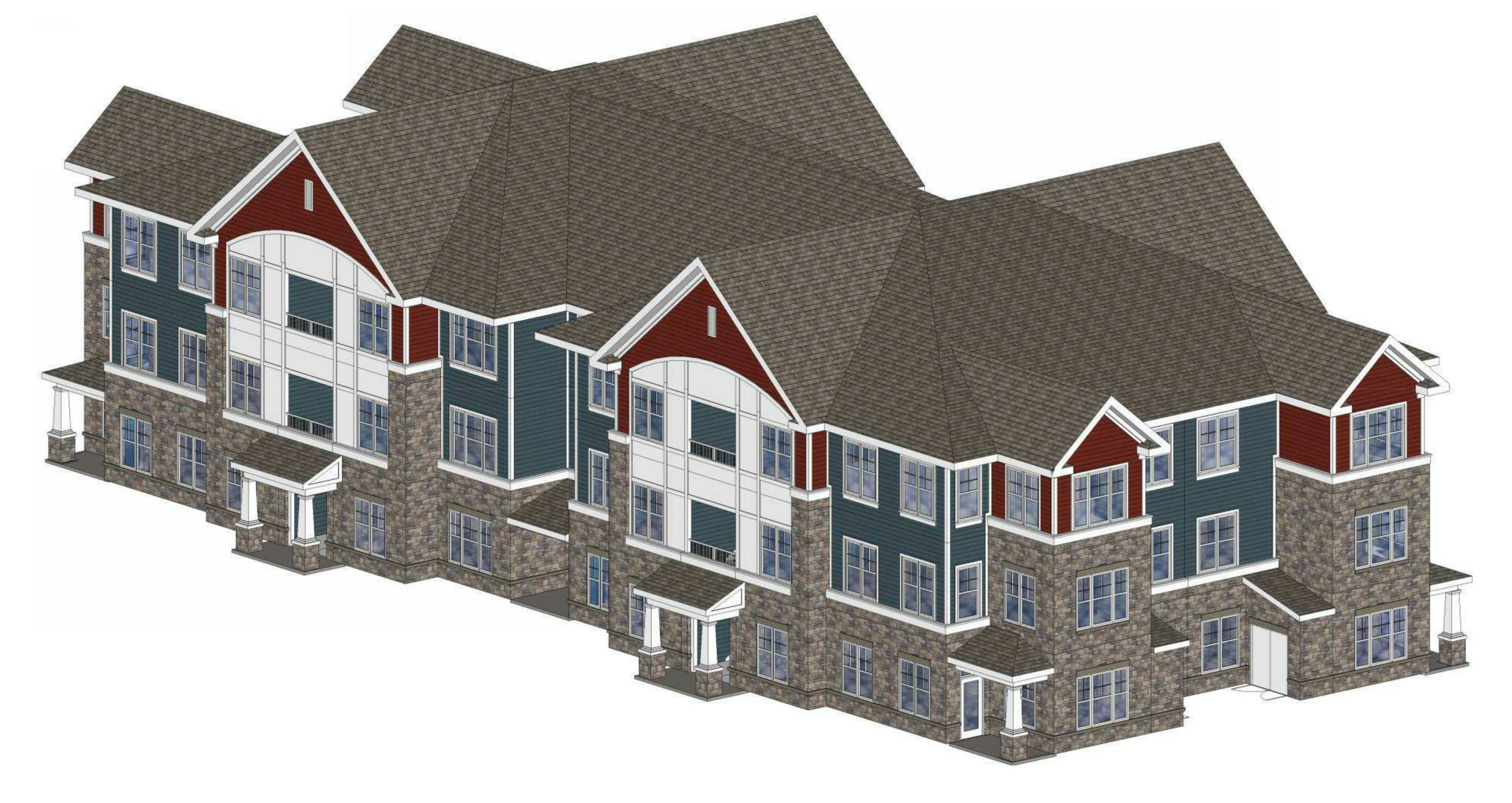 Calvert Hills rendering
